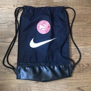 New Atlanta Hawks drawstring bag